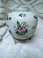 Vintage ACF Japanese Porcelain Ware Decorated in Hong Kong Hand Painted Vase