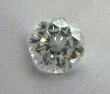 Diamond Loose .76 F/SI2 Round Brilliant For Ring/Mounting EGLUSA Certificate H&A