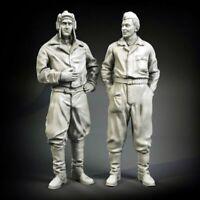 1/35 Resin Soviet Soldiers Talking unpainted unassembled FY019