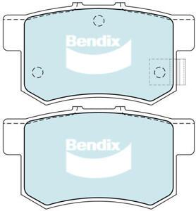 Brake Disc Pad Set Rear Bendix DB1265 GCT For HONDA Accord CR-Z Insight S2000