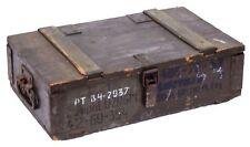 Boîte Munitions F-1 marchandises déclassées Coffre de rangement militärkiste