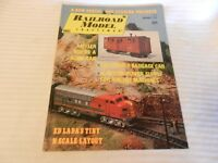 Railroad Model Craftsman Magazine January 1973 Issue