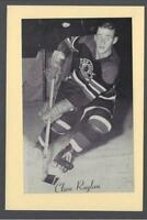 1944-63 Beehive Group II Chicago Blackhawks Hockey Photos #137 Clare Raglan