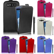 Funda Protectora Para Samsung Galaxy S3 i9300 i9305 Lápiz Stylus Móvil con Tapa