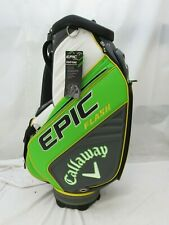 New Callaway Epic Flash Premium Full Size Staff Golf Bag Green White Charcoal