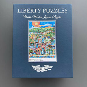 Liberty Puzzles Classic Wooden Jigsaw Puzzle, Barcelona, 673 pieces