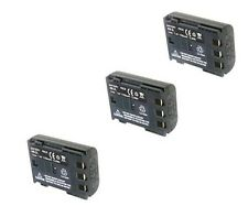 3X Batteries For Canon ZR100 ZR200 ZR300 ZR400 ZR500 ZR600 ZR700 ZR800 ZR830