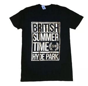 BRUNO MARS KHALID 2018 British Summer Time BST Event T Shirt Size Small New