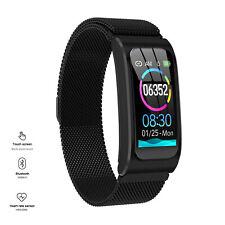 Stainless Steel Smart Watch Fitness Tracker Phone Mate for Motorola E G X Z
