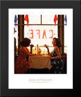 Cafe Days 20x24 Black Wood Framed Art Print by Jack Vettriano