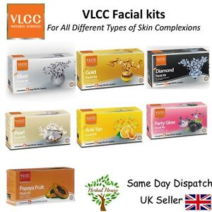 VLCC Facial Kit Sets - Clearer Skin, Scrub, moisturising, radiant glow GIFT SET
