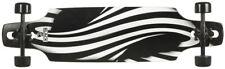 %SALE%  Choke Longboard Drop Through Cruiser Schwarz Ritter 37,4''x 9,5''
