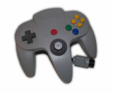 Official N64 Controller Gray / Grey Nintendo 64 Remote Genuine OEM Tight Stick