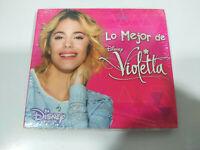Violetta Lo mejor de Violetta WALT DISNEY Channel 2015 - CD Neu - 2T