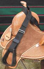 Kids Childs Abetta Heavy Duty Black Saddle Buddy Stirrups Adjustable Straps