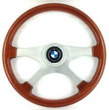 Genuine Atiwe 370mm wood rim, 4 spoke, steering wheel. BMW E9 E24 CS etc      8E