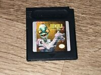 Oddworld Adventures 2 Nintendo Game Boy Color Cleaned & Tested Authentic