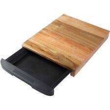 Tabla de corte C/cajón 38x24.5x3.5cm acacia natural / Bergner