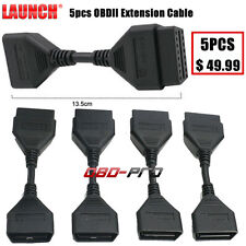5PCS Launch 16Pin OBD2 Extension Cable for EasyDiag / X431 IDIAG / 5C Connector