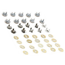 10 set magnetic bag clasps 14 mm - Ideal for sewing, crafts, clothing, bag, T8W1