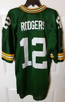 VTG Green Bay Packers Authentic Aaron Rodgers Jersey Reebok Sz 50 NFL Stitched
