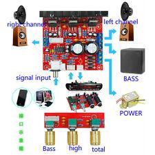 TDA2030A 2.1 3-Channel Subwoofer Super Bass Audio Amplifier Board 18Wx2 +30W Amp