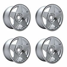 4 x 3SDM 0.05 Silver / Cut Polished Alloy Wheels - 5x112 | 18x8.5"