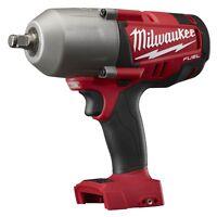 "Milwaukee M18 FUEL 1/2"" High Torque Impact Wrench,1200 ft lbs,Bare Tool #2763-20"