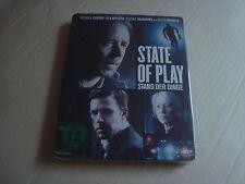 State of Play Blu-Ray SteelBook NEW&SEALED Ben Affleck H. Mirren Russell Crowe