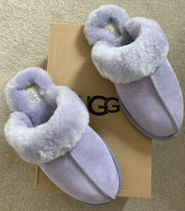 UGG -Size 6 - Ladies Scuffette slippers- Lilac - BRAND NEW - £67- RRP £80