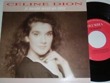 """7"""" - CELINE DION jamais danse Dan Matete & ONU gracon pas comme les autres # 4381"""