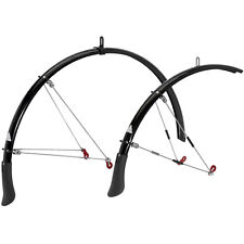 Axiom Roadrunner AR Road Bicycle Fender Set // 700c // Black