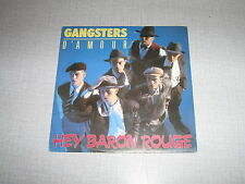GANGSTERS D'AMOUR JEFF BODART 45 TOURS BELGE HEY BARON
