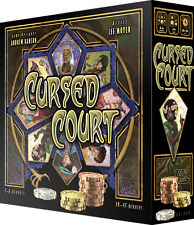 Cursed Court - Board Game by Andrew Hanson, Atlas Games, New in Shrinkwrap