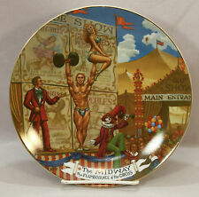 The MIDWAY The Greatest Show On Earth Collector Plate #5 In The Series 1981