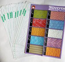 Toyota Knitting Machine Punchcard Set 7001