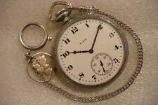 12 Size Elgin Pocket Watch! (1928)~ ~Nice Original 93 Year Old Gents