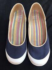 Dansko Vegan Shoes Size 36 US 5.5 Blue Denim Color