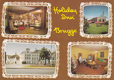 Postcard Holiday Inn Hotel Bruges Belgium Used VGC