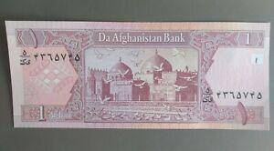 1 afghanis Afghanistan 2002, UNC