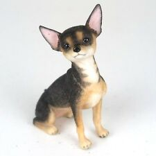 """Chihuahua Short Hair Dog - Collectible Figurine Miniature 3.25""""H New in box"""