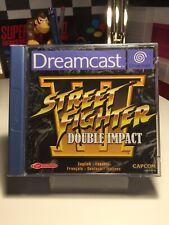 Sega Dreamcast Rare Game Street Fighter Double Impact Complete VGC