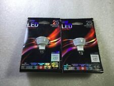 Feit Electric LED 12 Volt MR11 25 Watt Replacement  G4 Base lot of 2 pcs