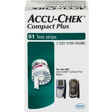 ACCU-CHEK Compact Plus Test Strips 51 Each (Pack of 6)