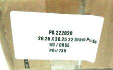 New Listingpa222020 Fiberglass Paint Booth Filters 22 Gram Pads Case Of 50 20 X 20
