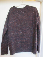 "Mens Navy Blue & Multicoloured Jumper in Size M - 39-41"" Chest"