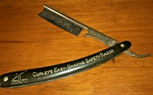 VINTAGE CURLEY'S EASY SHAVING SAFETY RAZOR 1889