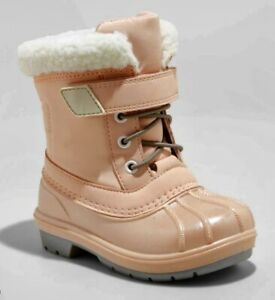 Toddler Girls' Journey Winter Boots Pink - Cat & Jack - SIZE 12