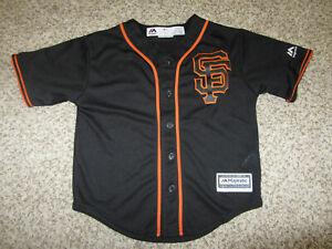 San Francisco Giants MLB Baseball Jersey Youth Kids Toddler Majestic M 5/6 SF