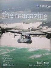 3/2014 rolls-royce magazine 140 fed ex ceramic technology mv-22 osprey mtu